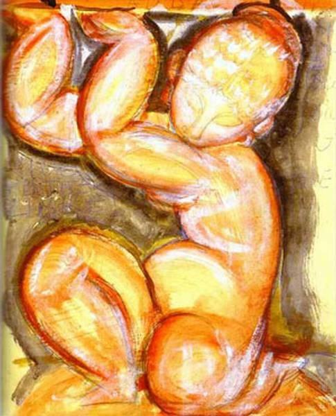 rose caryatid audace 1914 XX norton gallery of art west palm beach fl usa